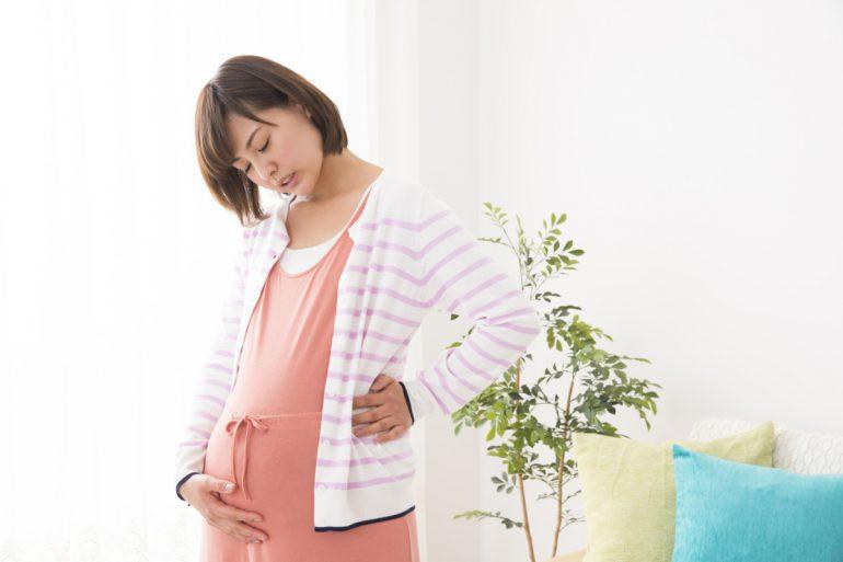 妊婦さんの腰痛・背中痛・股関節痛