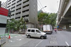 新宿方面からの道のり3