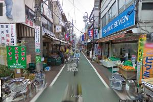 下高井戸駅からの道のり2